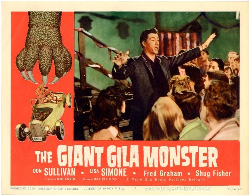 The Giant Gila Monster - Ray Kellogg - 1959 20702010