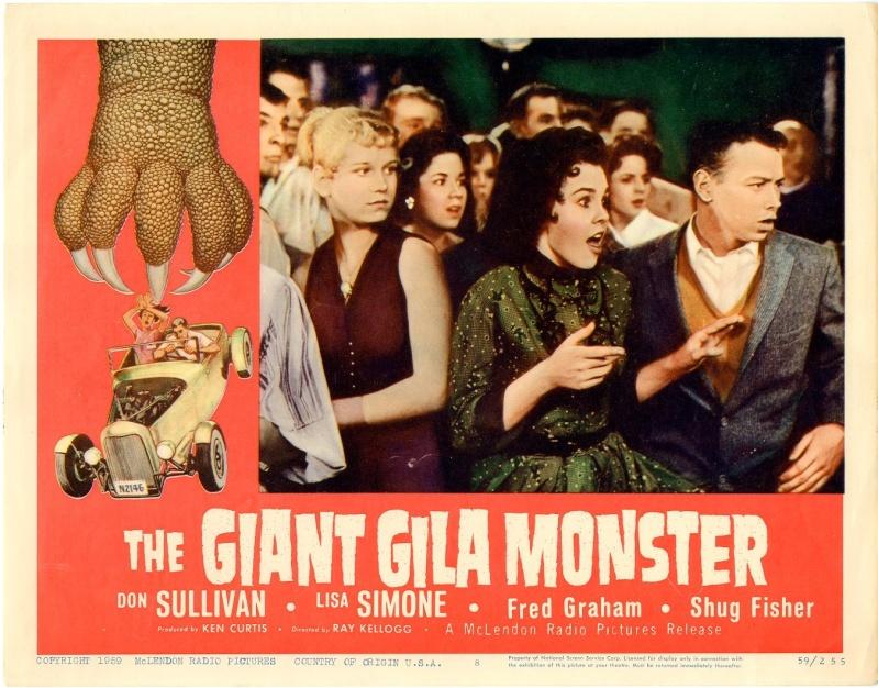 The Giant Gila Monster - Ray Kellogg - 1959 20702011