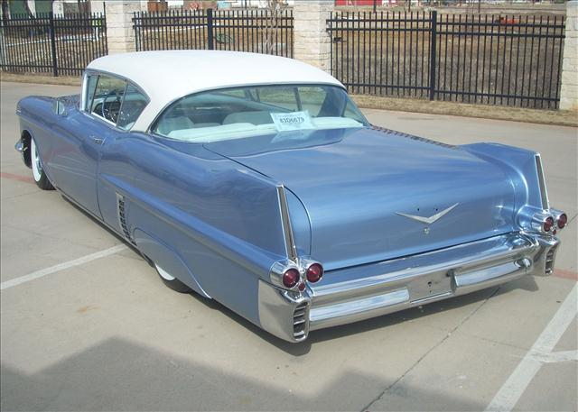 Cadillac 1957 & 1958  custom & mild custom 33956812