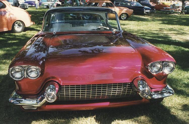 Cadillac 1957 & 1958  custom & mild custom 35-vi10
