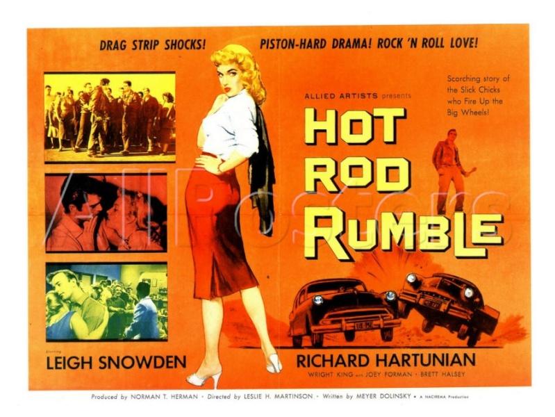 Hot Rod Rumble - Leslie H. Martinson - 1957   40-40210