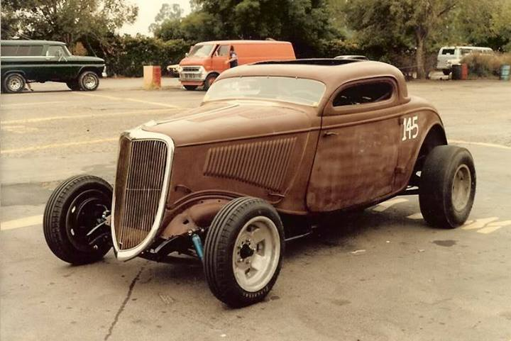 1950's & 1960's hot rod & dragster race 55097910
