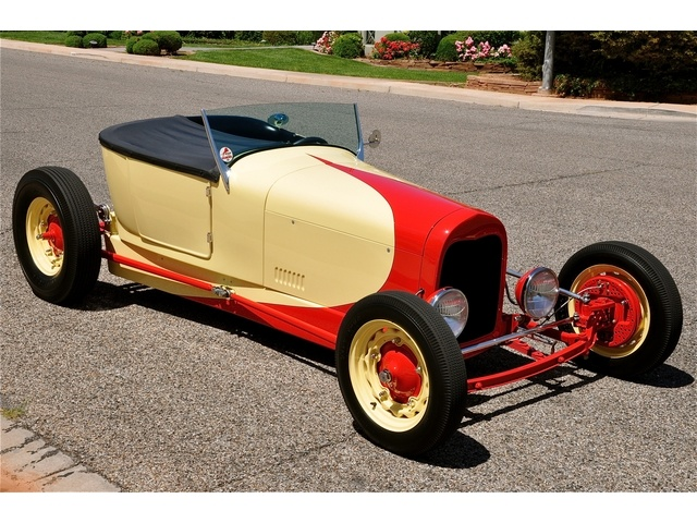 Ford T hot rod (1908 - 1927) - T rod 5_bmp10