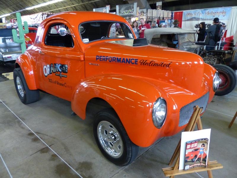 Willys 1940- 41 gasser 84550211