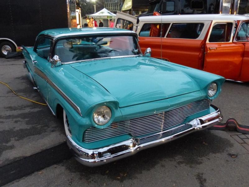 Ford 1957 & 1958 custom & mild custom  85439110