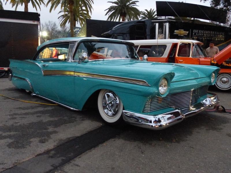 Ford 1957 & 1958 custom & mild custom  85439112