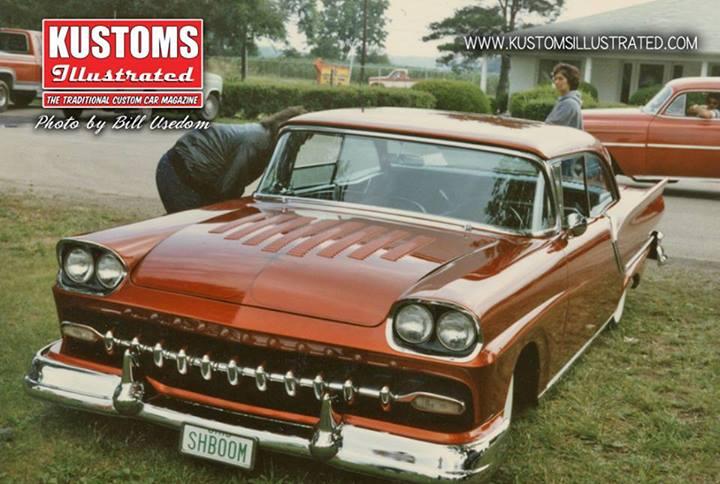 Ford 1957 & 1958 custom & mild custom  94443110