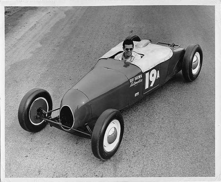 1950's & 1960's hot rod & dragster race 97099010