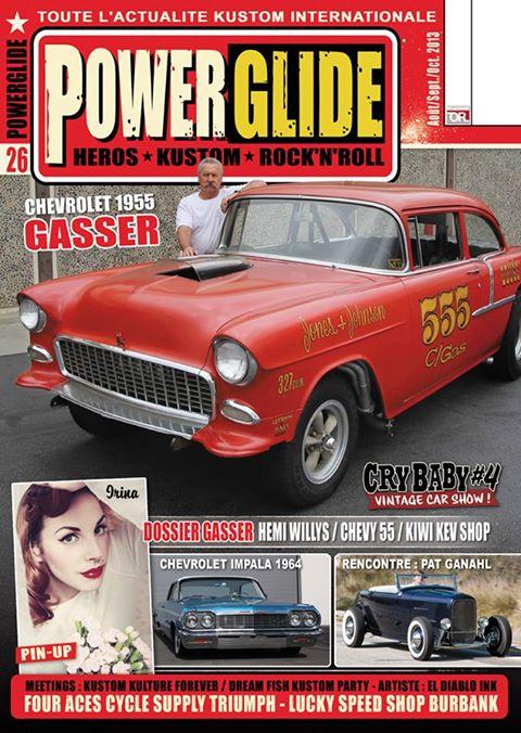 Powerglide magazine 99291510