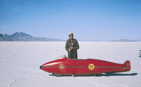 Burt Monroe - Pilote de moto de records Burt_m10