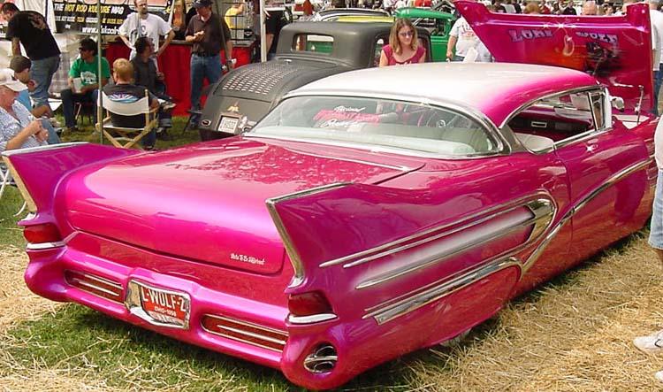 Cadillac 1957 & 1958  custom & mild custom Dean0412