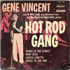 Gene Vincent records Epgene10