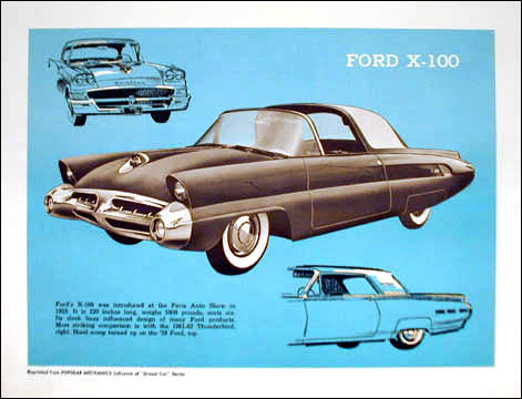 1953 Ford X-100  F669410