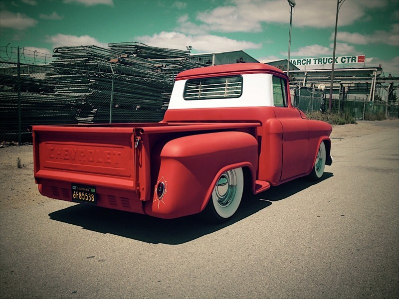 Chevy pick up  1955 - 1959 custom & mild custom Kgrhqn32