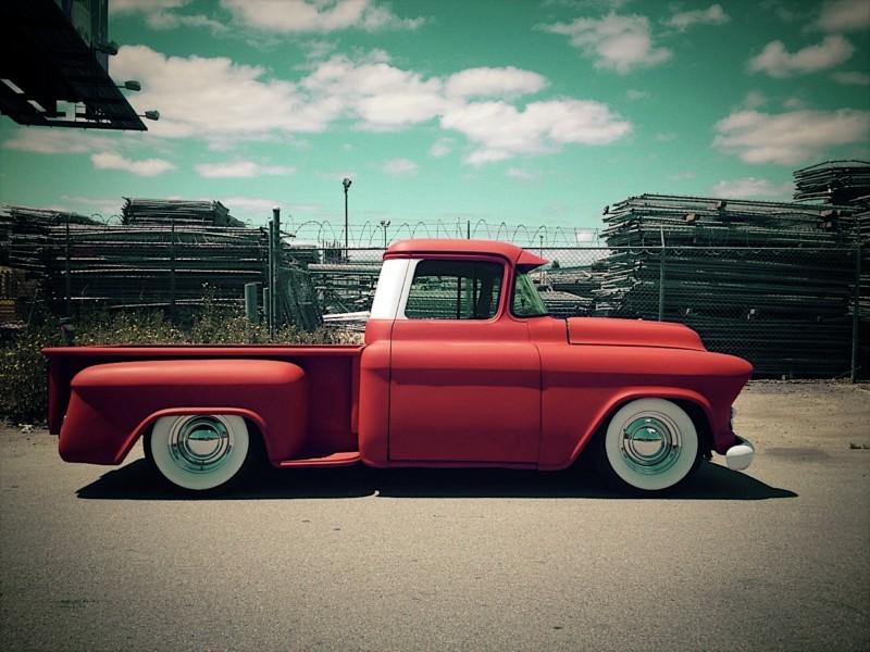 Chevy pick up  1955 - 1959 custom & mild custom Kgrhqr47
