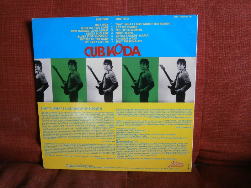 Les albums 33 tours de Rockabilly et Rock 'n' roll revival des  1970's & 1980's P4200013