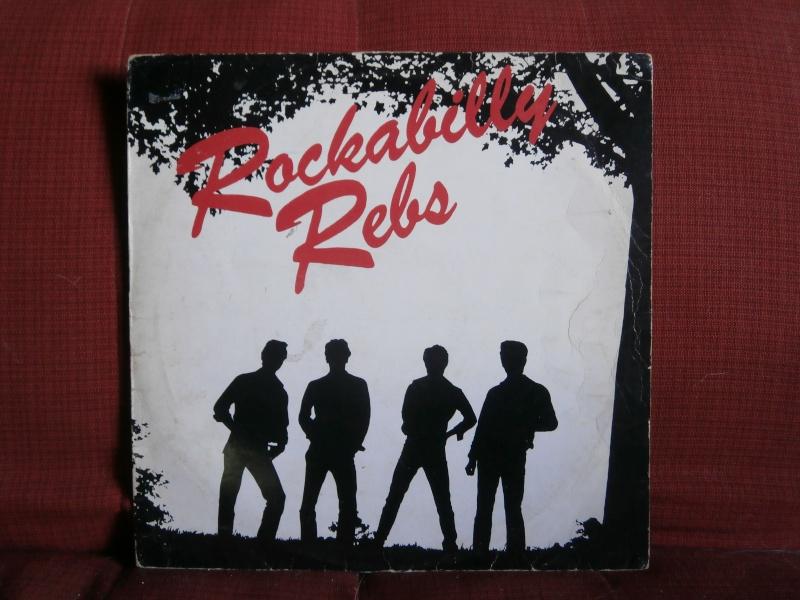 Les albums 33 tours de Rockabilly et Rock 'n' roll revival des  1970's & 1980's P5270010