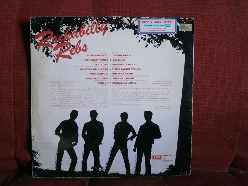 Les albums 33 tours de Rockabilly et Rock 'n' roll revival des  1970's & 1980's P5270011