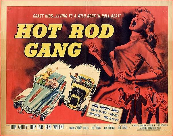 Hot Rod Gang - Lew Landers -1958 Poster10