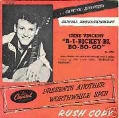 Gene Vincent records Sbibic10