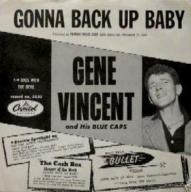 Gene Vincent records Sgonna10
