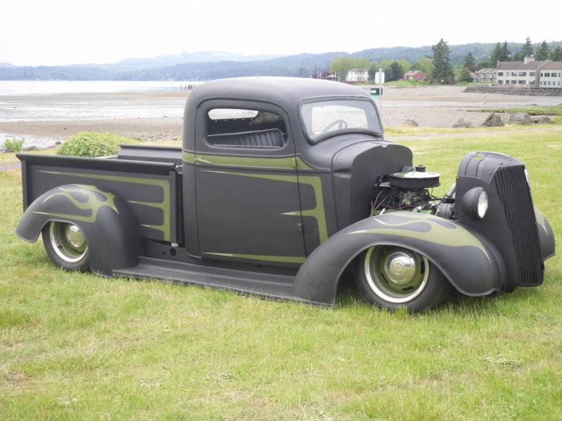 Chevrolet 1936 - 39 custom & mild custom T2ec1177
