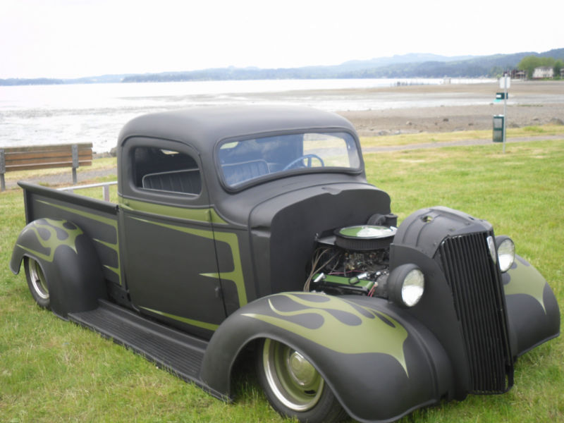 Chevrolet 1936 - 39 custom & mild custom T2ec1182