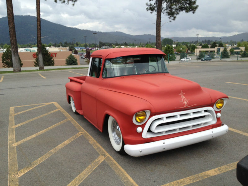 Chevy pick up  1955 - 1959 custom & mild custom T2ec1229