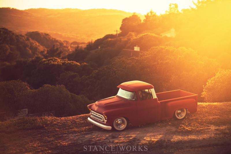 Chevy pick up  1955 - 1959 custom & mild custom T2ec1230