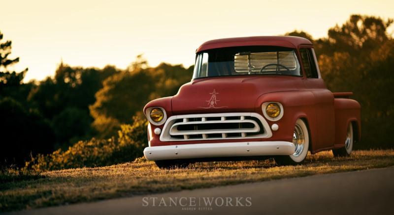 Chevy pick up  1955 - 1959 custom & mild custom T2ec1232