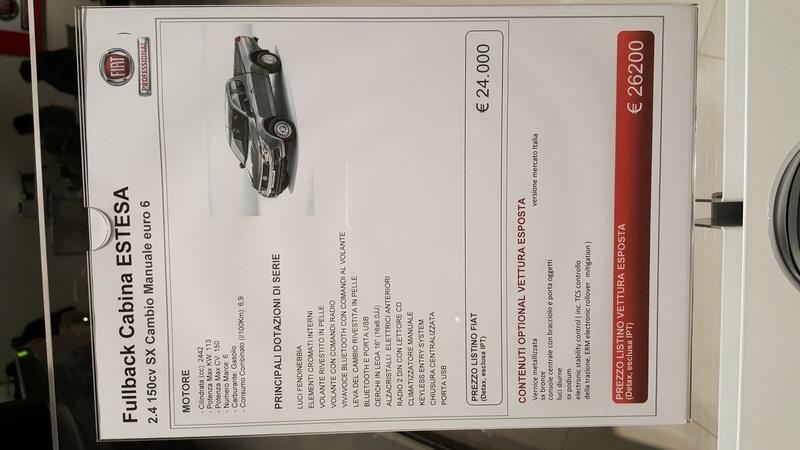 Fiat Fullback, nuovo pickup in casa FCA - Pagina 4 20170115