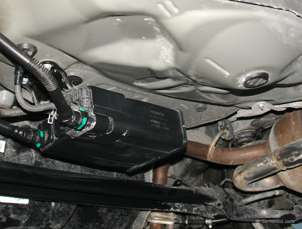 Sunfire 2000, jauge d'essence erratique et difficulté pour faire le plein Charco10