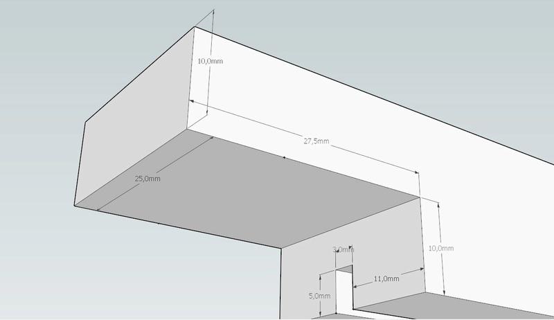 Plans et cotations d'une ruche Dadant 10 cadres A411