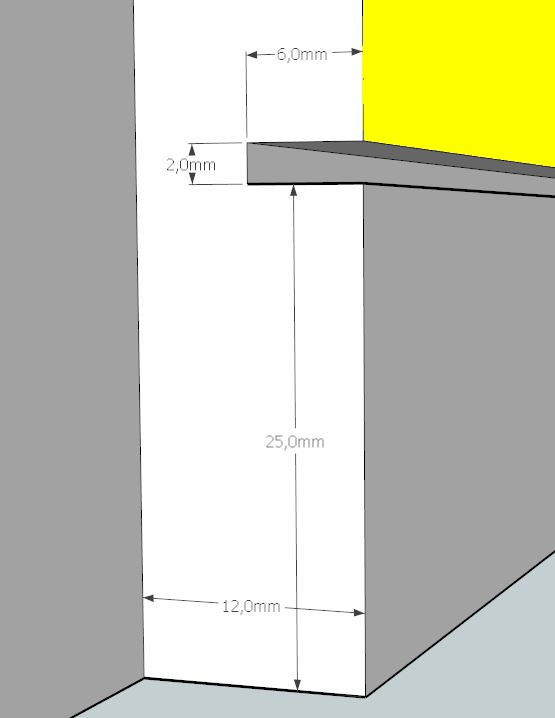 Plans et cotations d'une ruche Dadant 10 cadres A510
