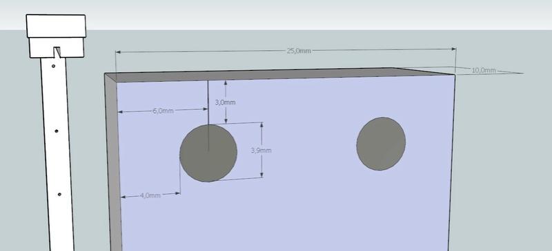 Plans et cotations d'une ruche Dadant 10 cadres A611