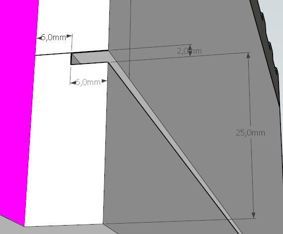 Plans et cotations d'une ruche Dadant 10 cadres A612