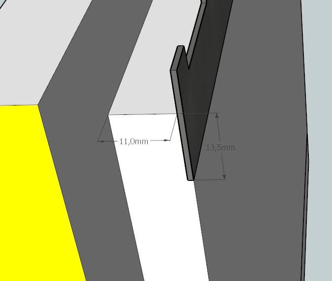 Plans et cotations d'une ruche Dadant 10 cadres A710
