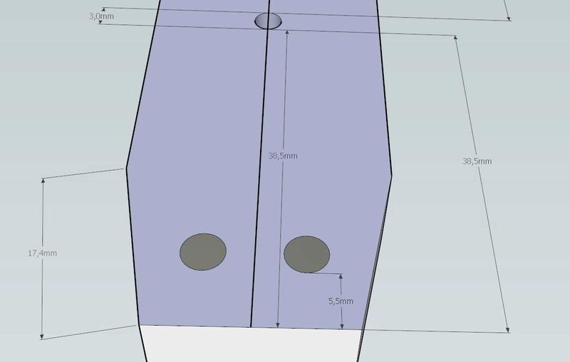 Plans et cotations d'une ruche Dadant 10 cadres A811