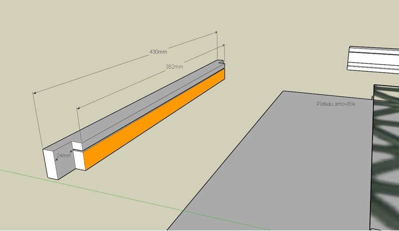 Plans et cotations d'une ruche Dadant 10 cadres B411