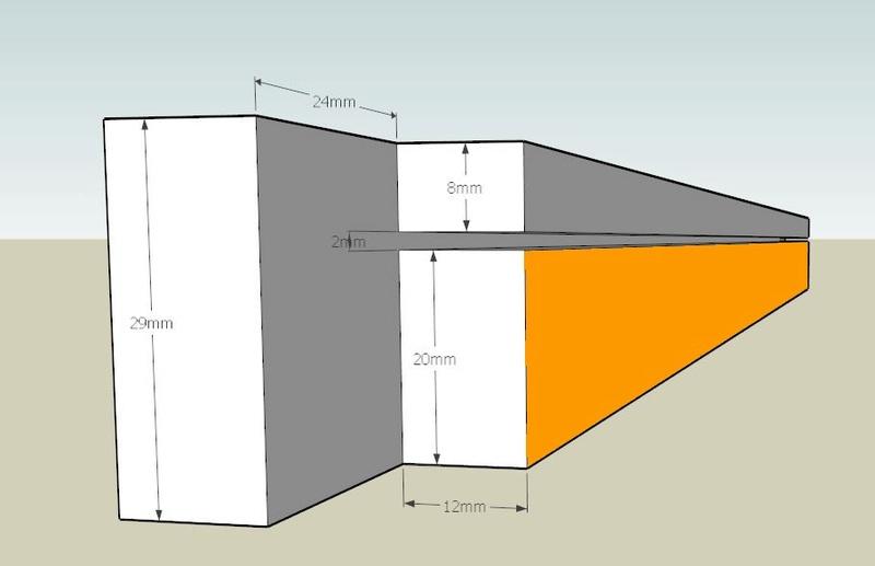 Plans et cotations d'une ruche Dadant 10 cadres B511