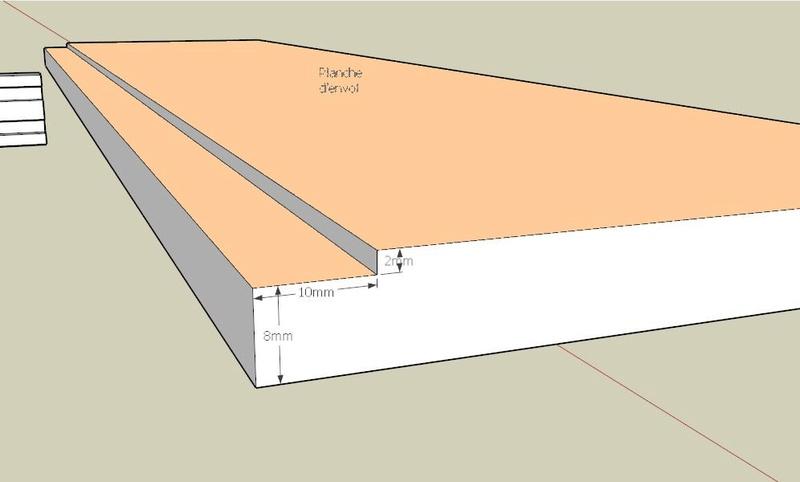 Plans et cotations d'une ruche Dadant 10 cadres B710