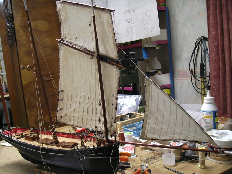 BISQUINE au 1/40 Kit Billing Boats modifié Xavero - Page 10 Bild0430