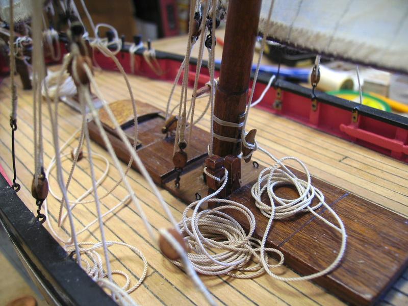 BISQUINE au 1/40 Kit Billing Boats modifié Xavero - Page 10 Bild0512