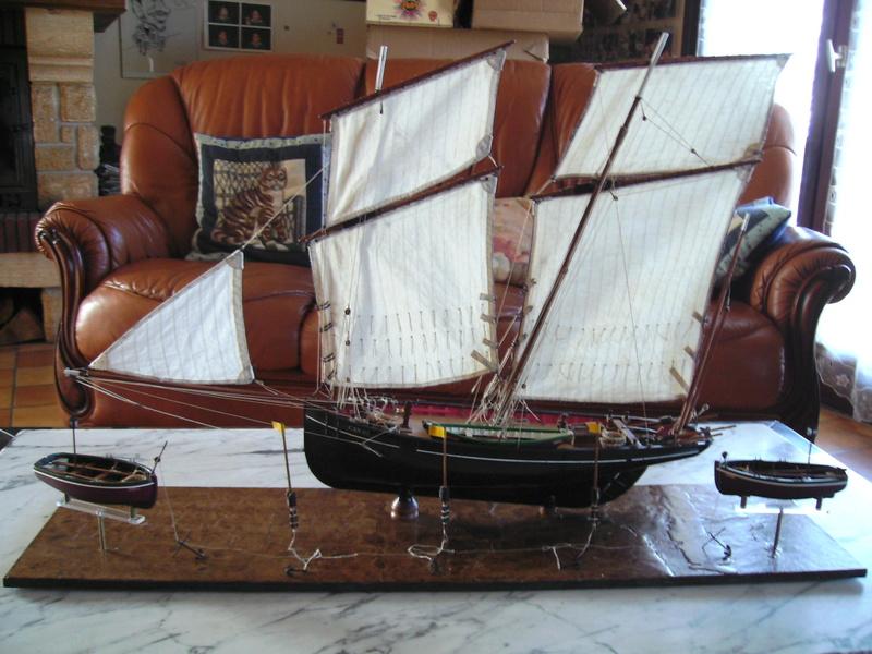 BISQUINE au 1/40 Kit Billing Boats modifié Xavero - Page 10 Bild0521