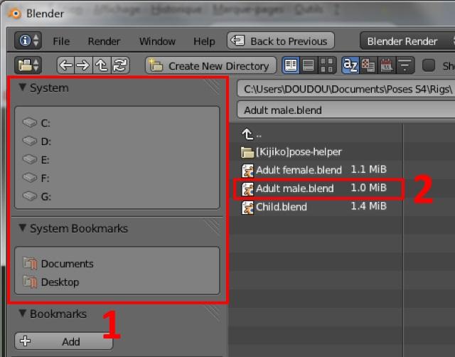 [Débutant] Poses Sims 4: importer plusieurs rigs dans Blender pour créer une pose multiple Post_124