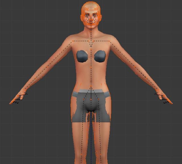 [Débutant] Poses Sims 4: importer plusieurs rigs dans Blender pour créer une pose multiple Post_218