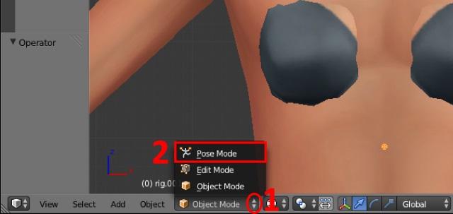 [Débutant] Poses Sims 4: importer plusieurs rigs dans Blender pour créer une pose multiple Post_311