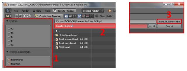 [Débutant] Poses Sims 4: importer plusieurs rigs dans Blender pour créer une pose multiple Post_313