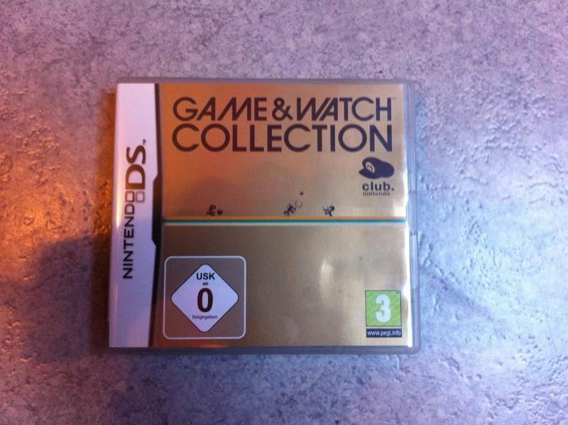 [ESTIM] Game & Watch Collection sur Nintendo DS Gamewa10