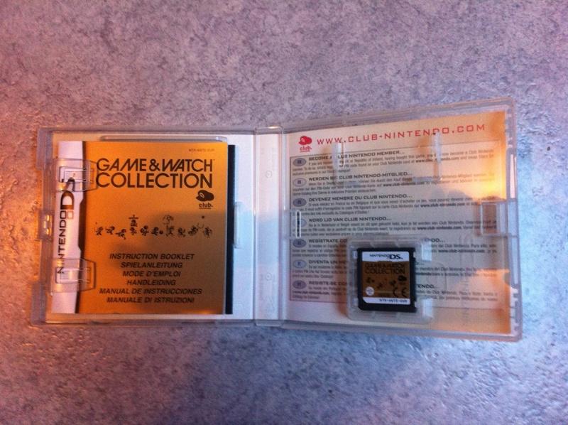 [ESTIM] Game & Watch Collection sur Nintendo DS Gamewa11